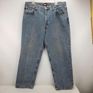 Vintage Tommy Hilfiger Flag Tag Jeans Straigt Leg